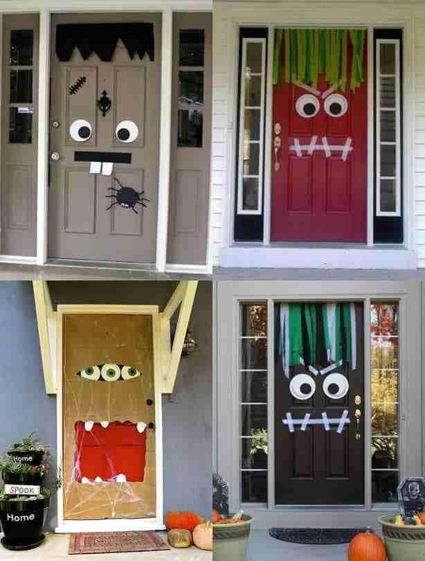 door decorations diy cozy home