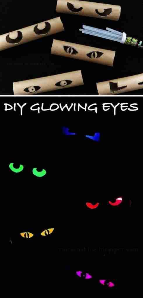 glowing eyes listotic